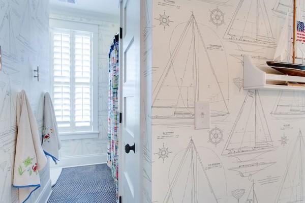 Tapet Designers Guild, marca Ralph Lauren