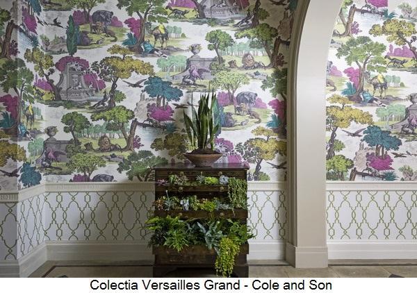 Cole and Son Folie Versailles Grand Landscape