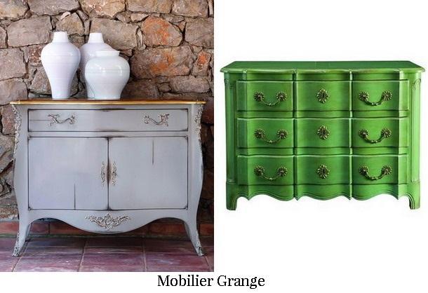 Bahut gris Exceptions - GRANGE - mobilier