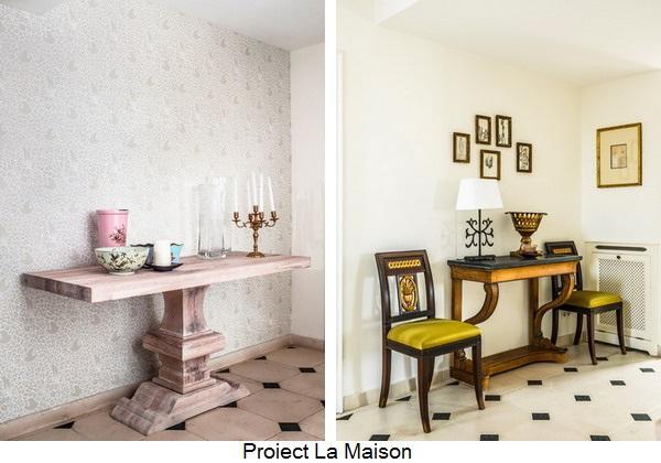 hol - proiect La Maison