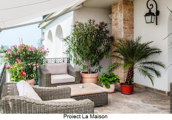 terasa proiect La Maison