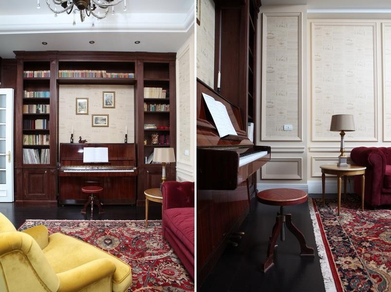 biblioteca mobilier la comanda