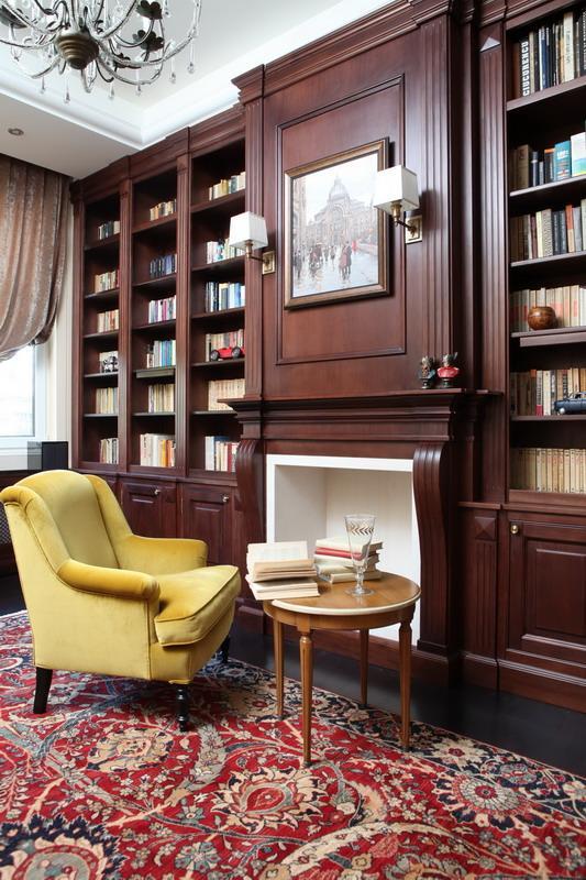 biblioteca mobilier la comanda la maison