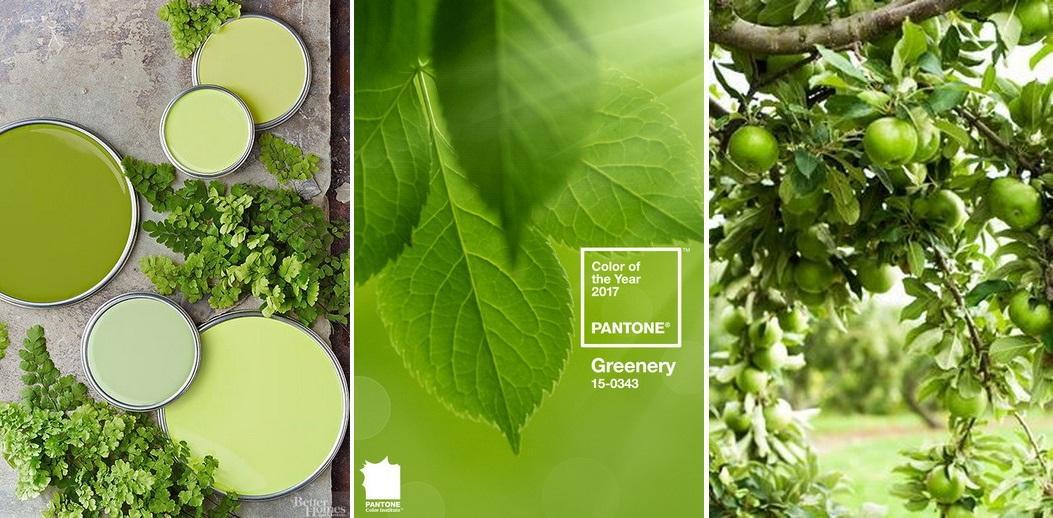 Greenery este culoarea anului 2017 de la pantone, gasiti si la La Maison