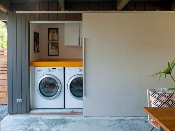 Spalatoria poate fi amplasata si in garaj
