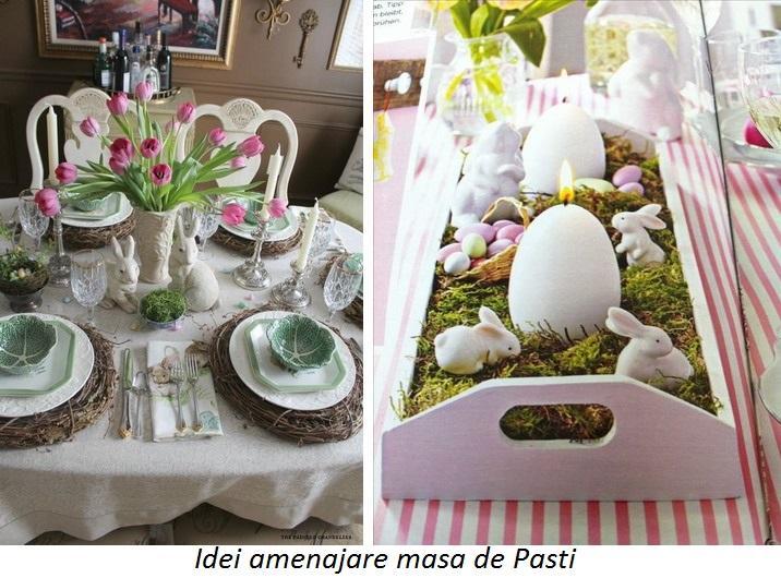 idei amenajare masa de pasti la maison romania