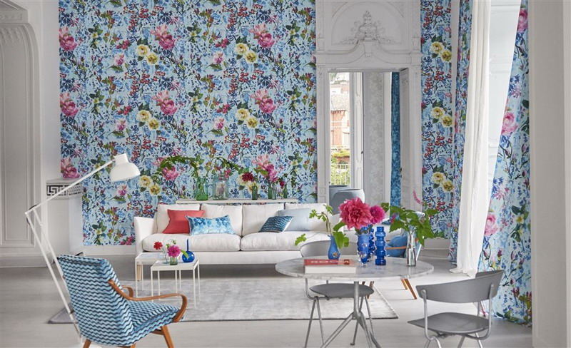 colectia majolica designers guild la maison tapet design interior florile