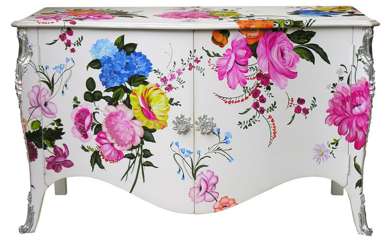 commode buffet moissonnier culoare design interior florile