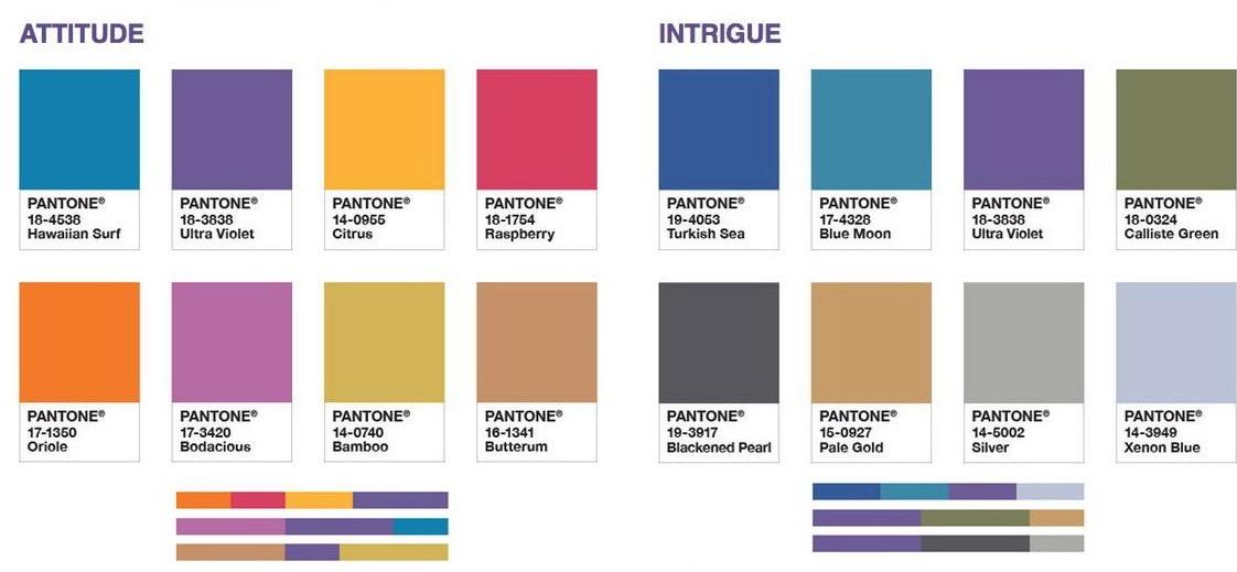 paleta cromatica asortare ultra violet 2018 la maison