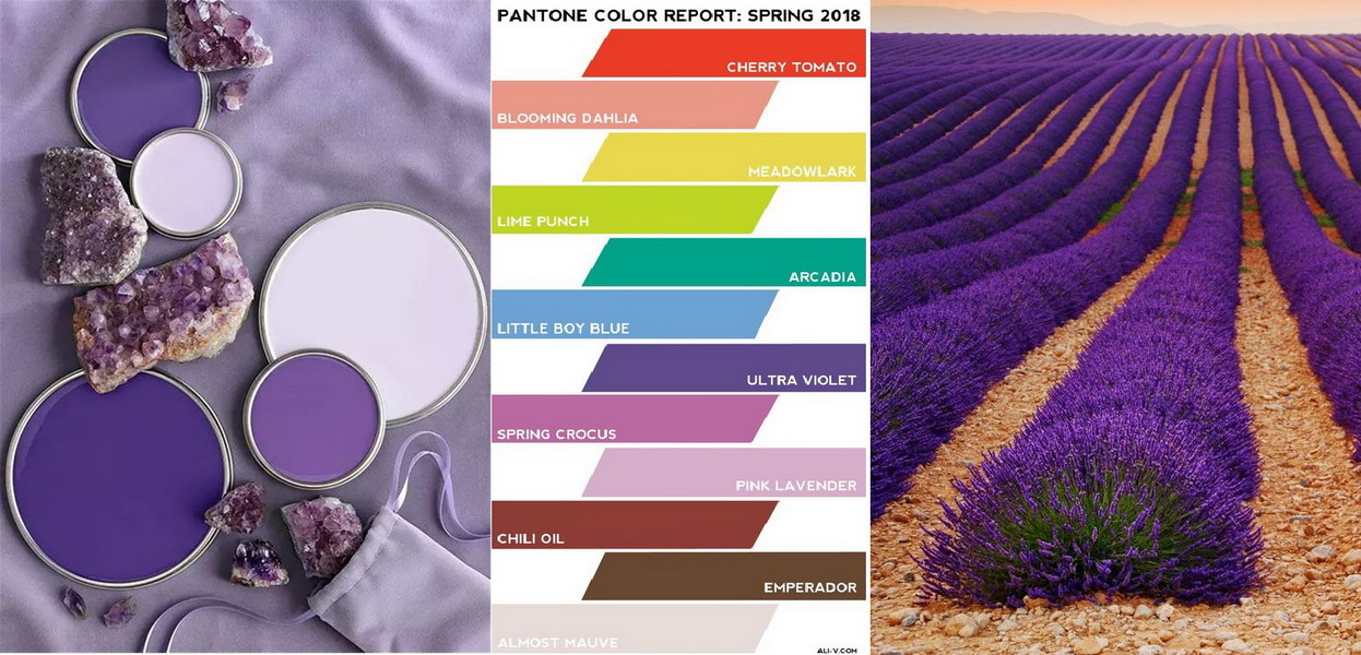 pantone culoarea anului 2018 la maison ultra violet
