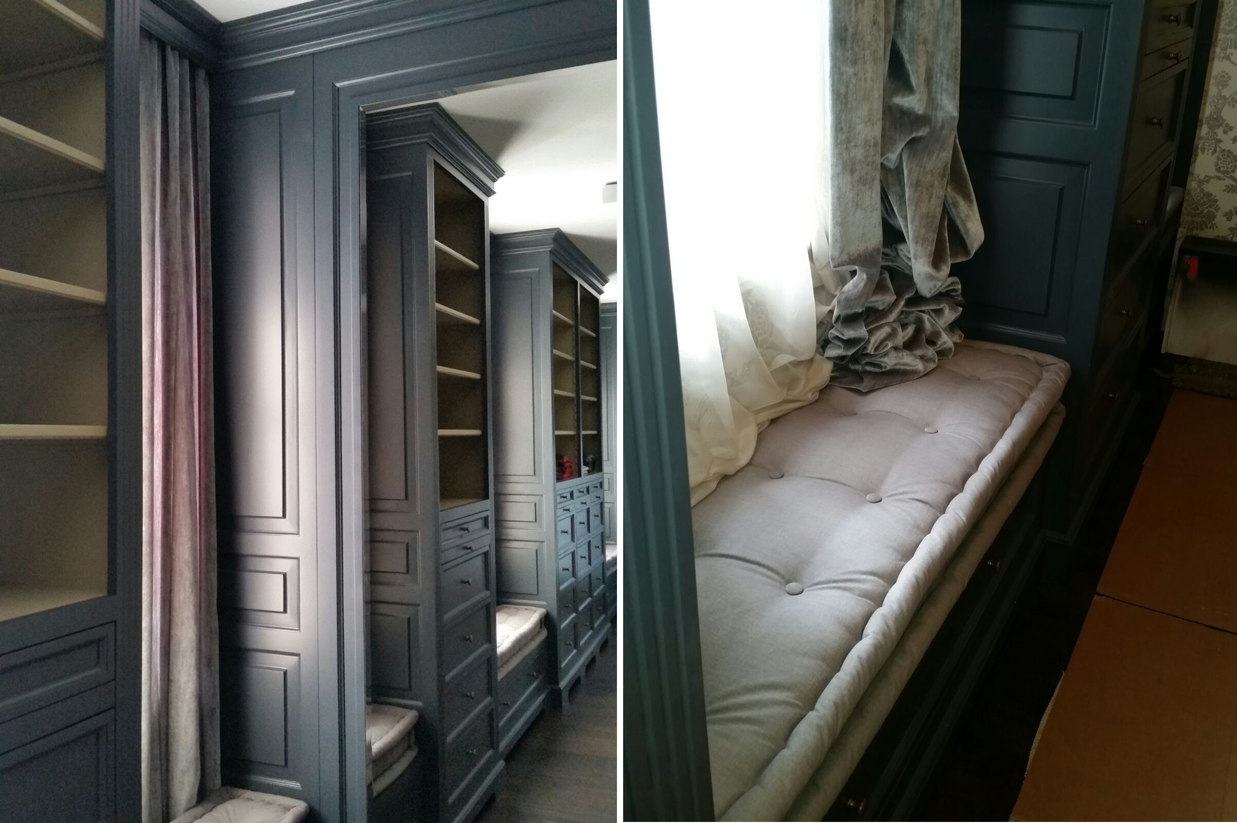 Bancheta Dressing proiect la maison romania