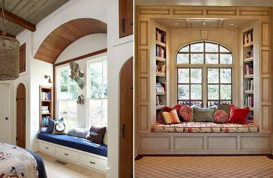 Bancheta la geam la maison inspiratie