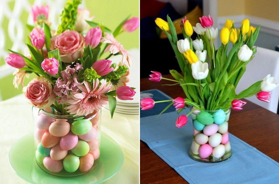 Vază ornamentală pentru masa de Paște