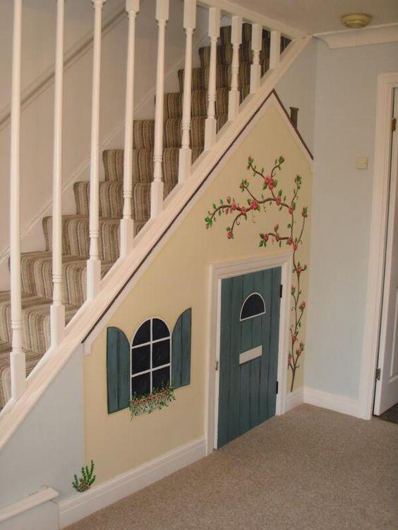 amenajare loc de joaca pentru copii sub scari
