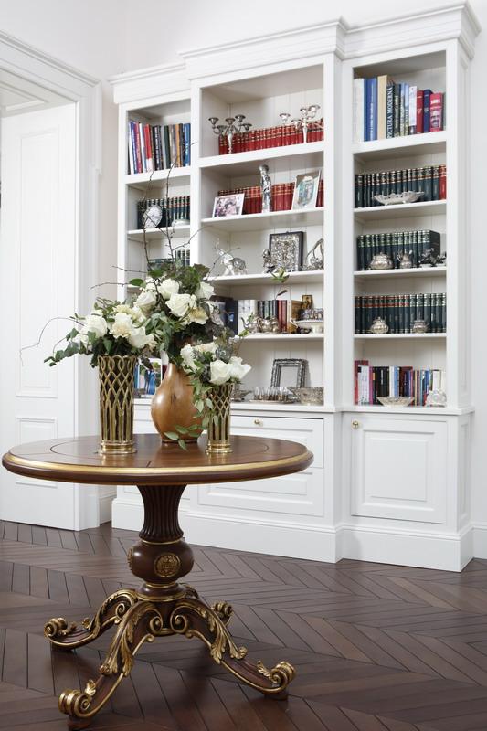 biblioteca la comanda proiect la maison