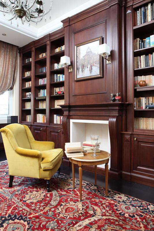 proiect la maison biblioteca realizata la comanda semineu