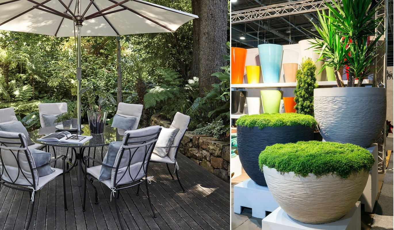 amenajare terasa stil tropical la maison