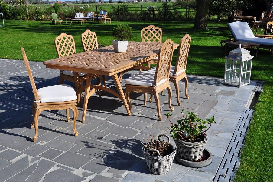 massant mobilier exterior masa pentru terasa la maison