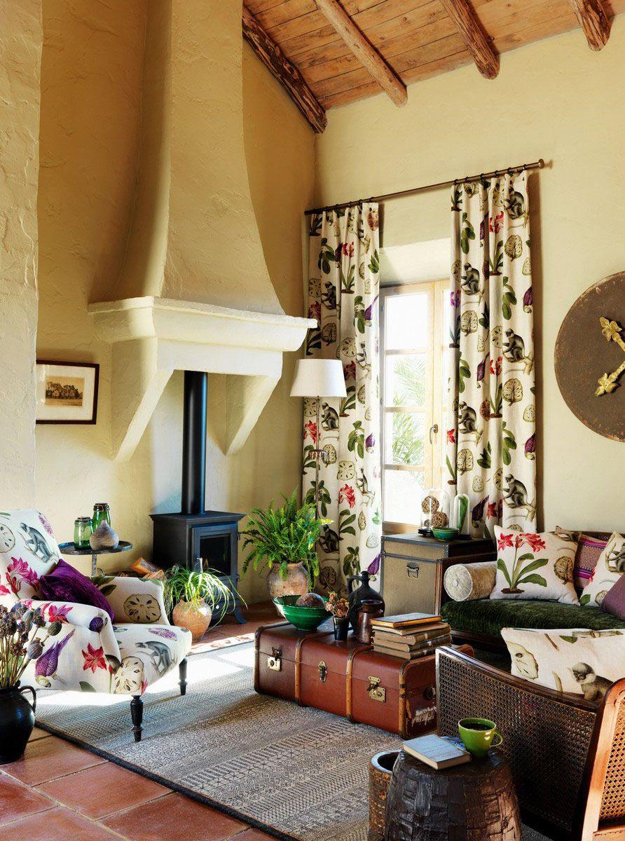stilul exotic la maison tapet tesaturi amenajare