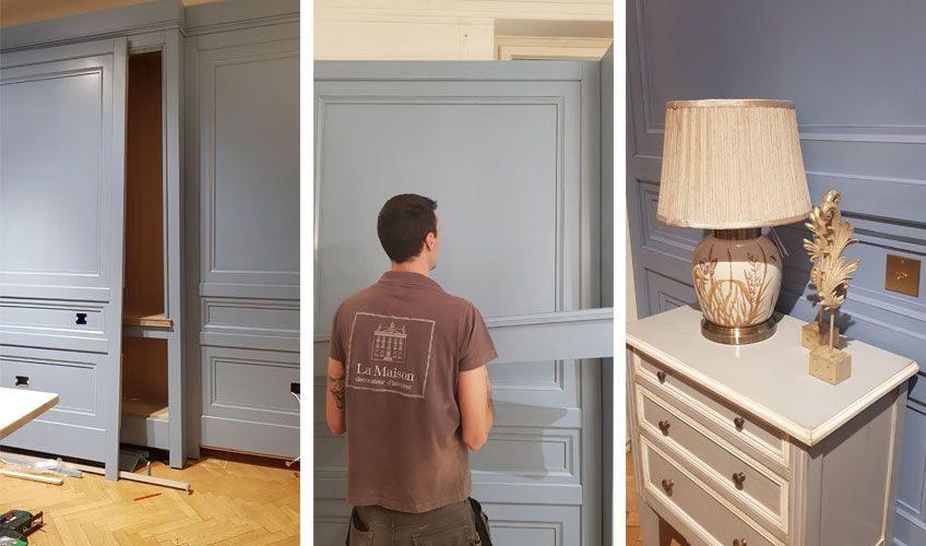 Placări din lemn - pentru pereți cu personalitate - imagine Showroom La Maison