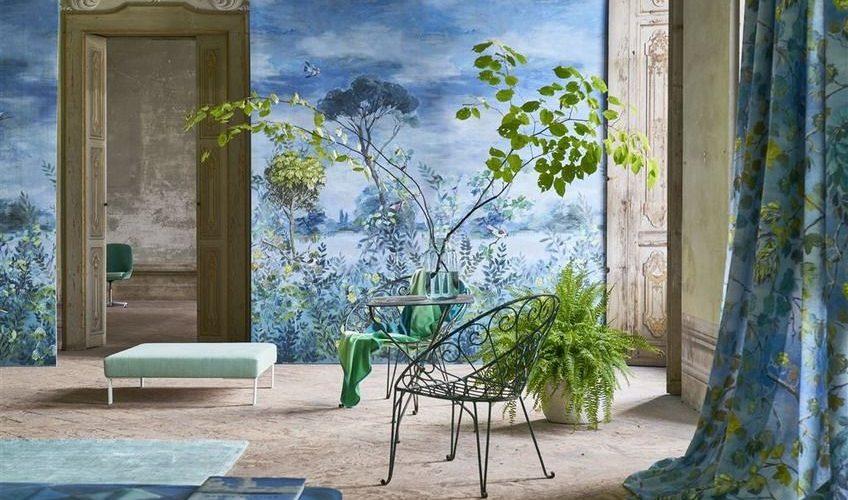 Tapet Designers Guild - La Maison - Giardino segreto scene