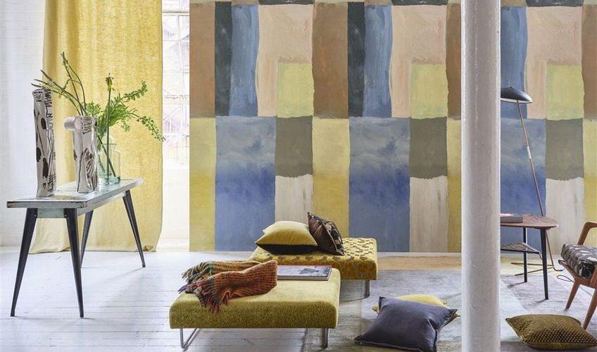 Tapet La Boutique Online - Otto mosaic - dusk