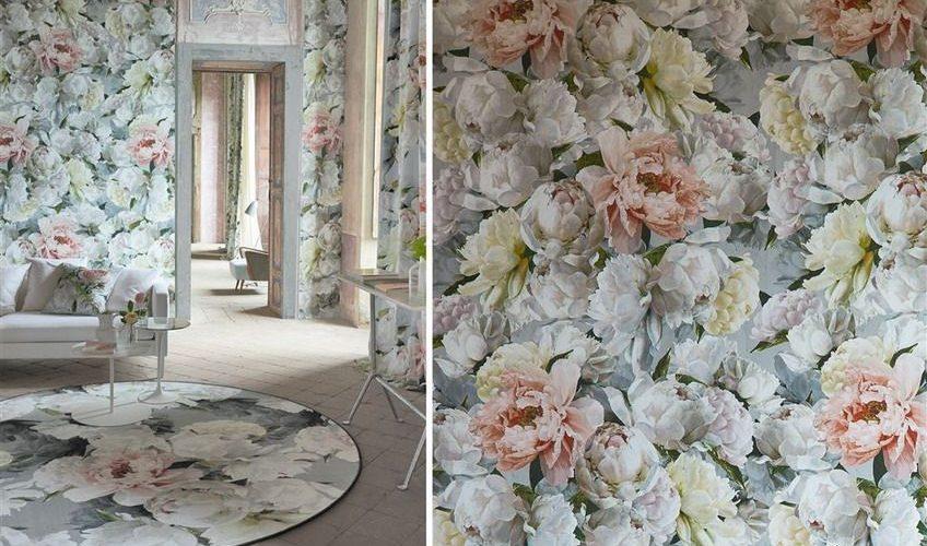Tapet Designers Guild - La Maison - Peonia grande