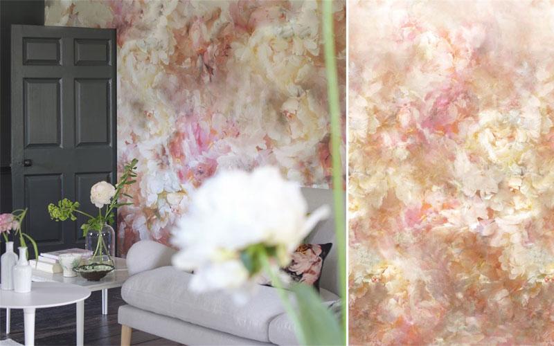 Tapet Designers Guild - Fleur-de-nuit