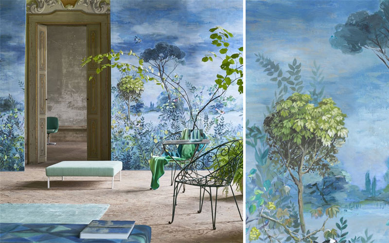 Tapet Designers Guild - Giardino Segreto Scene